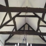 Roof beams All Saint's Church, Buncton, West Sussex