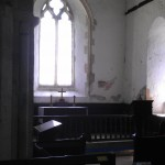 Inside All Saint's Church, Buncton, West Sussex