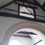 Arch and roof All Saint's Church, Buncton, West Sussex