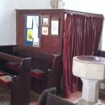Inside All Saint's Church, Buncton, West Sussex