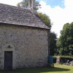 Exterior All Saint's Church, Buncton, West Sussex