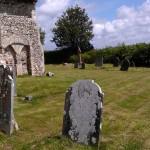 Churchyard All Saint's Church, Buncton, West Sussex