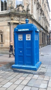 Police Box, Buchanan Street Glasgow