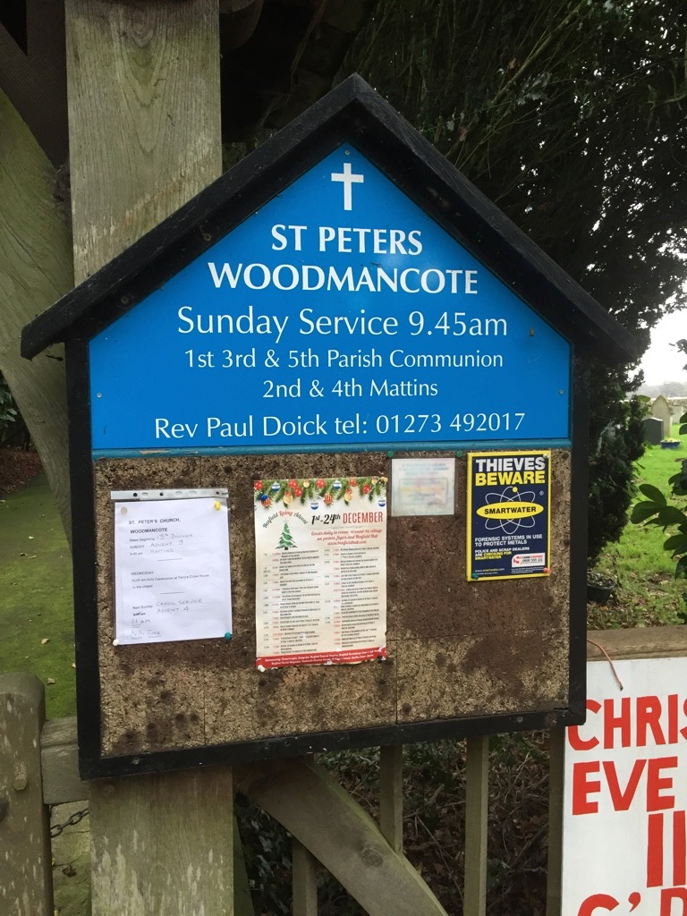 St Peter's Church, Woodmancote, West Sussex