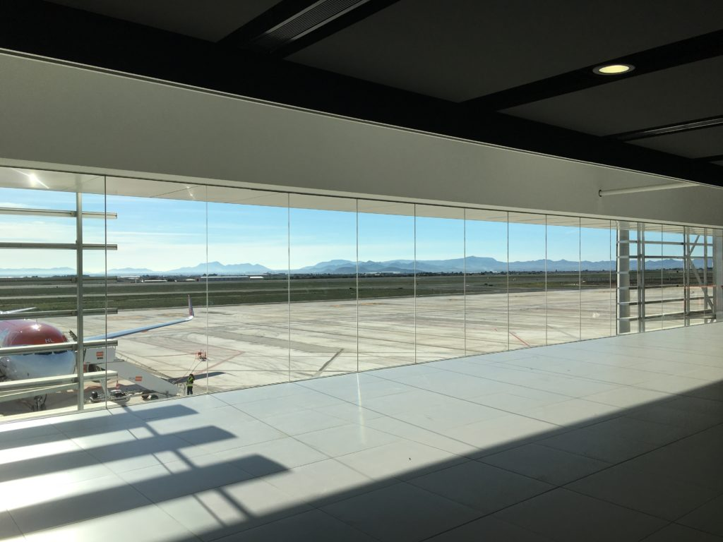 Murcia International airport, RMU, Corvera, Spain