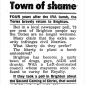 "The Sun: Brighton is a ""Town of Shame"""