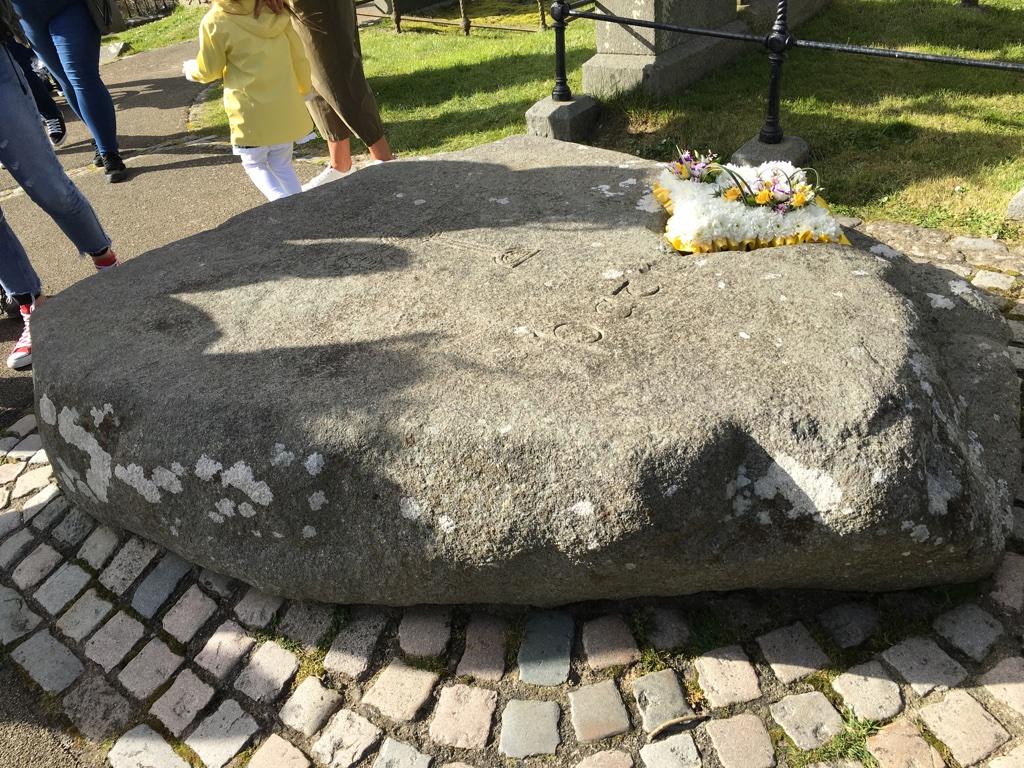 St Patrick's Grave, Down Patrick, Northern Ireland.